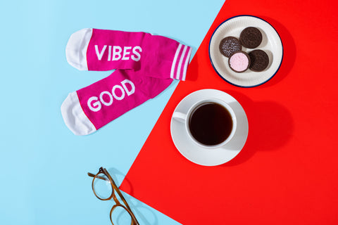 Good Vibes Girls - Beetroot Pink - ThePeppyStore