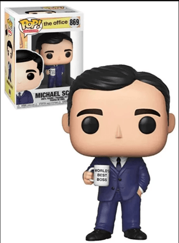 Funko Pop The Office - Michael Scott #869 -  Pre-order
