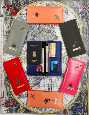 Personalised Travel Organiser - ThePeppyStore