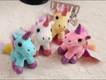 Unicorn keychain / Bag charm