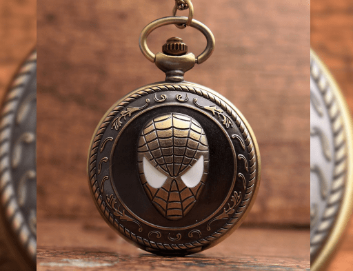 Spiderman Pocket Watch - ThePeppyStore