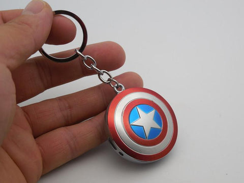 Captain America keychain lighter