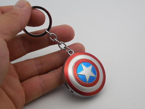 Captain America keychain lighter - ThePeppyStore