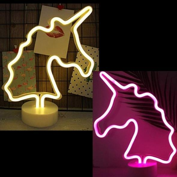 Unicorn Marquee Light  - Battery + USB Operated - ThePeppyStore