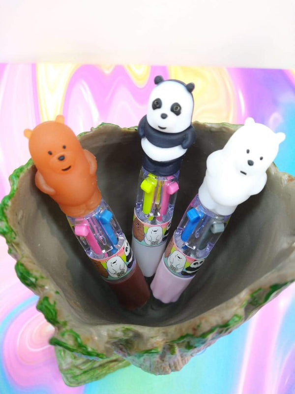 Panda Pen Small 4 in 1 Color (Set of 3) - ThePeppyStore