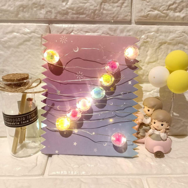 Crystal ball Dreamy fairy lights Colorful - ThePeppyStore
