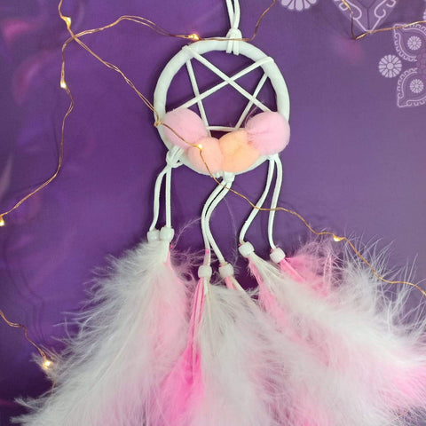 Dreamcatchers For Desks and Cars (Pink) - ThePeppyStore