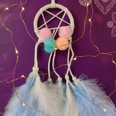 Dreamcatchers For Desks and Cars (Blue) - ThePeppyStore
