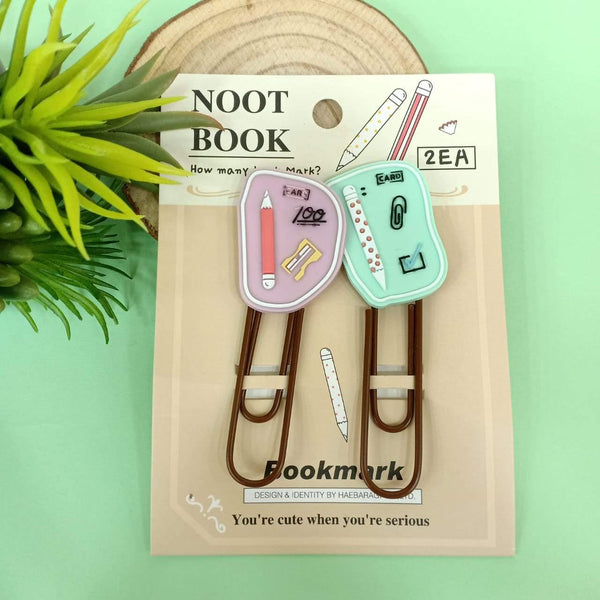 Quirky Notebook Bookmarks