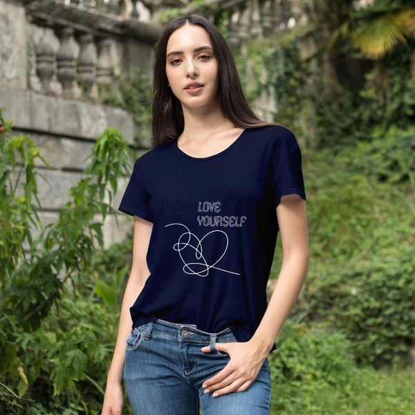 Love Yourself BTS T-Shirt - ThePeppyStore