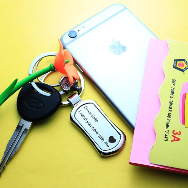 Drive Safe Keychain - Premium Quality - ThePeppyStore