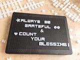 LED Lighted Peg Board with Letters and Symbols, - ThePeppyStore