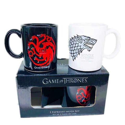 Game of Thrones Coffee Mug Set oF 2