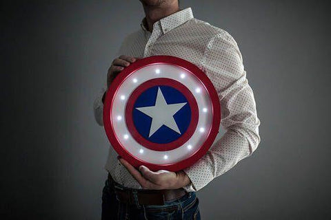 Captain America Marquee Light - ThePeppyStore