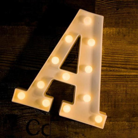 Alphabets Marquee Lights ( Large) - ThePeppyStore