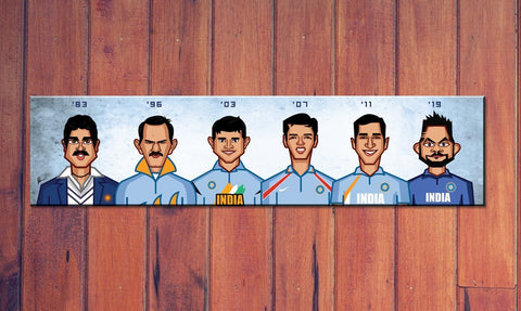 THE WORLD CUP CAPTAINS WALL ART