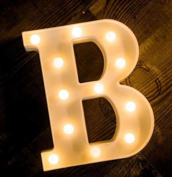 Alphabets Marquee Lights Medium - ThePeppyStore
