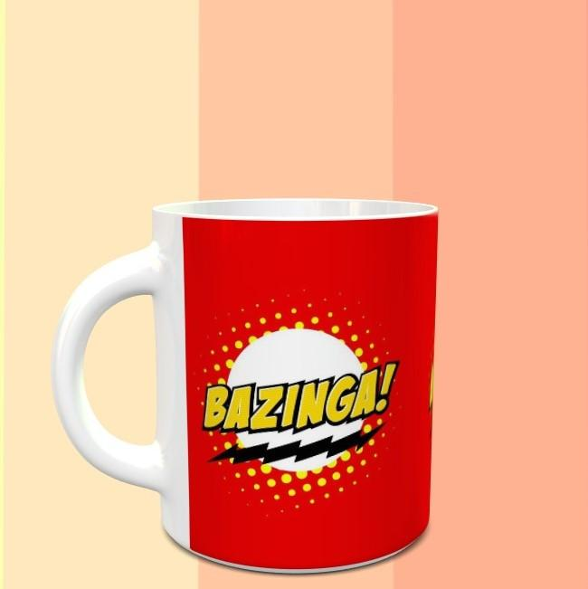 Bazinga - The Big Bang Theory Mug - ThePeppyStore