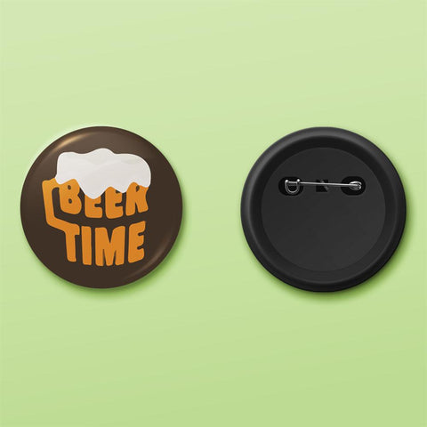 Beer tine badge