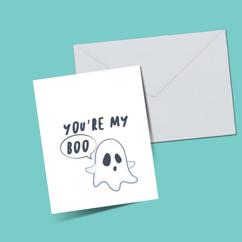 Boo cards - ThePeppyStore