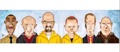 Breaking Bad Wall Art - ThePeppyStore