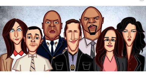 Brooklyn 99 WALL ART - ThePeppyStore