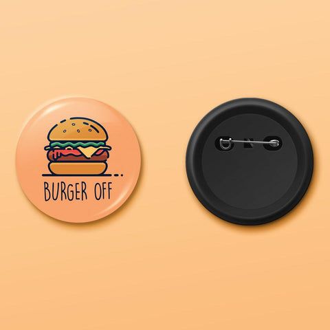 Burger off badge - ThePeppyStore