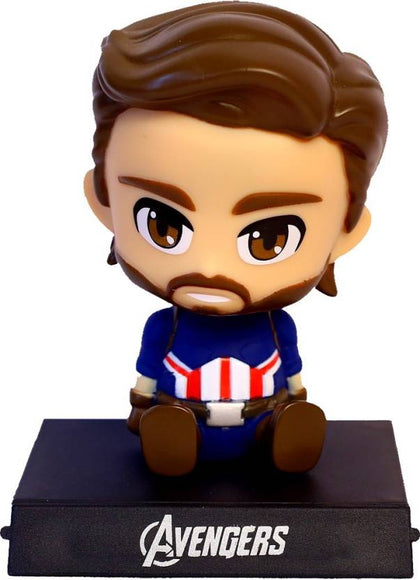 Captain America  Bobble Head - ThePeppyStore