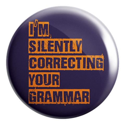 Correcting Your Grammar Badge