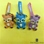 Cute Baby Squirrel Keychain