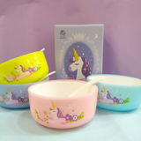 Unicorn Bowl Set - ThePeppyStore