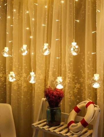 Bulb Curtain Lights