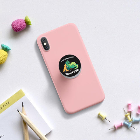 Diet Tomorrow phone holder / phone grips - ThePeppyStore