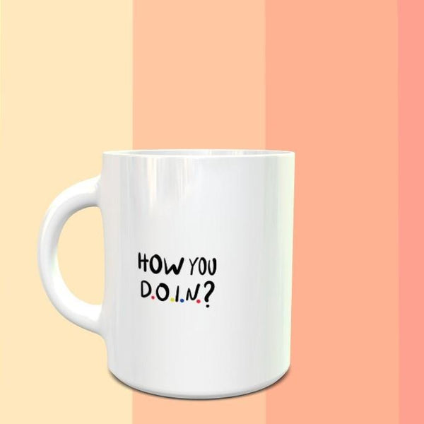 FRIENDS How You Doin Mug - ThePeppyStore