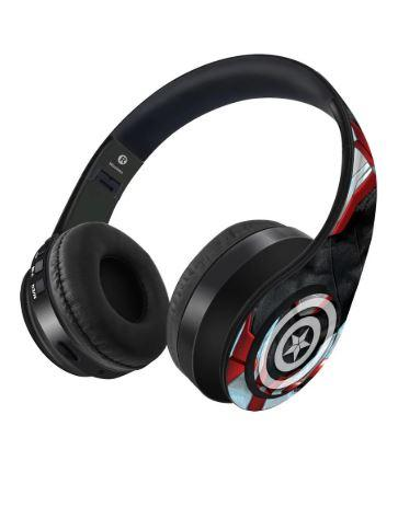 Endgame Suit Captain America- Wireless On Ear Headphones - ThePeppyStore
