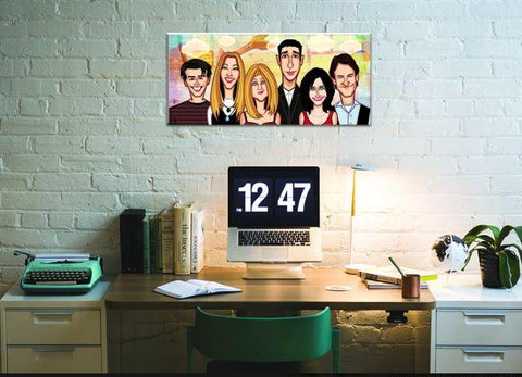THE FRIENDS Wall Art - ThePeppyStore