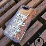 Good Vibes Only phone case - Golden