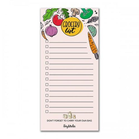 Grocery List Memo Pads - ThePeppyStore