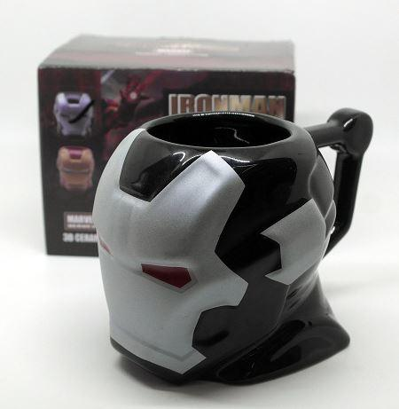 Iron Man 3d Coffee Mug - Silver