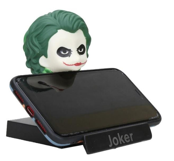 THE DARK KNIGHT JOKER BOBBLE HEAD + Phone Stand - ThePeppyStore