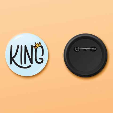 King badge - ThePeppyStore