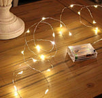 Fairy Lights - Warm White - 2 meters - Battery Operated - ThePeppyStore