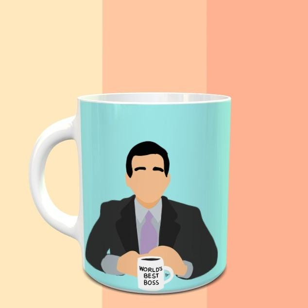 Michael Scott sarcastic quote - The Office  Mug - ThePeppyStore