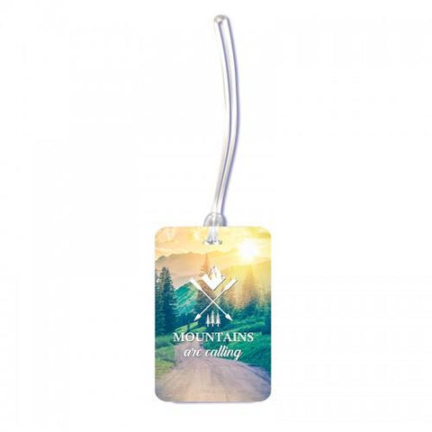 Mountains Are Calling Luggage Tag