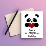 Have A Stu-PANDAous Birthday Card - ThePeppyStore