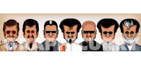 Rajinikanth Wall Art