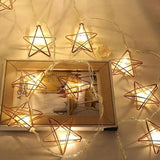 Star Metal Lights - Rose Gold - ThePeppyStore