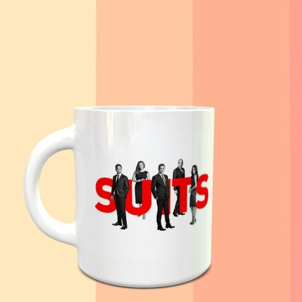 SUITS Mug - ThePeppyStore