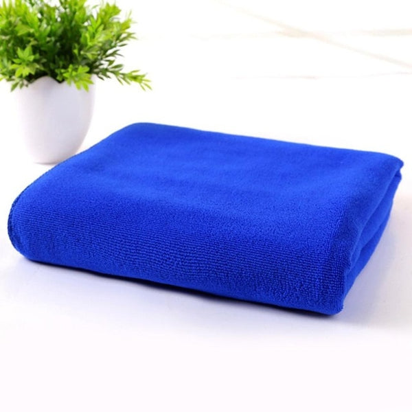 Microfiber Absorbent Fast Drying Bath Beach Towel Washcloth Swimwear Hair Towel Sports Fitness Towels Dropshipping