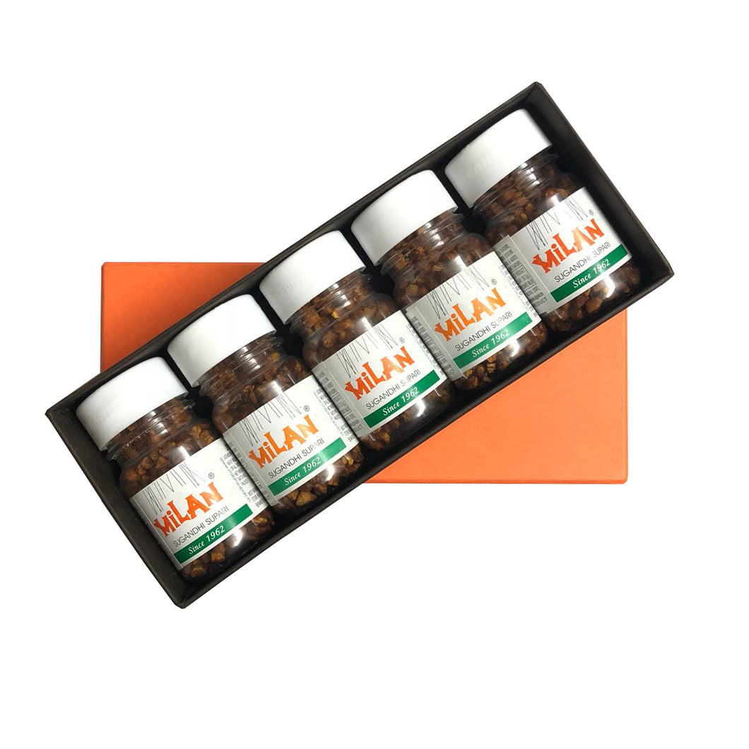 Gift Box -Assorted Pack of Milan Supari Bottles